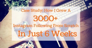 how to grow instagram following