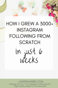 Must-Read Instagram Case Study: How I grew a 3000+ following on Instagram in just 6 weeks, instagram for beginners, growing an instagram account, instagram followers, tips, strategy, make money from instagram