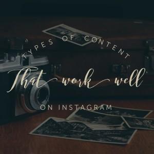 content marketing on Instagram