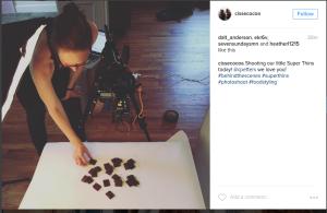 instagram behind the scenes