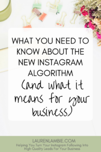 the new instagram algorithm and what it means for your business, instagram marketing, instagram for business