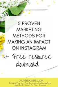 instagram marketing strategy ideas tips