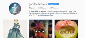 gorattlethestars instagram following