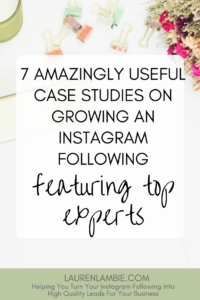 7 of the best case studies on the internet that explain in detail how to grow a large instagram following, instagram, growing an instagram account, social media, business, entrepreneur, blogger, blogging