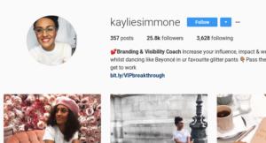 inspiring coach kaylee
