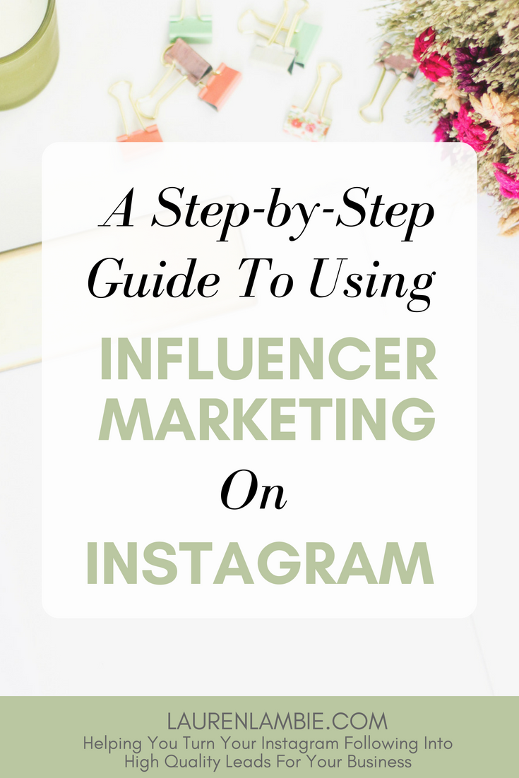 New to influencer marketing? Here's a straightforward guide for beginners and startups for using Influencer marketing on Instagram to grow your audience, build your email list, and turn those leads into new customers #instagrammarketing #instagram #socialmediamarketing #influencermarketing