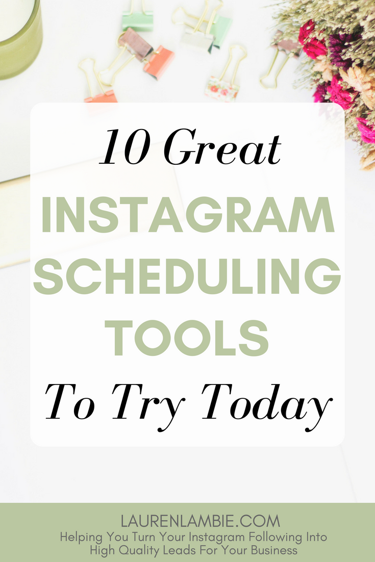 Here are 10 of the best Instagram scheduling tools on the market today and an insight into which ones might be right for your startup business #instagramtools #instagrammarketing #instagramscheduling