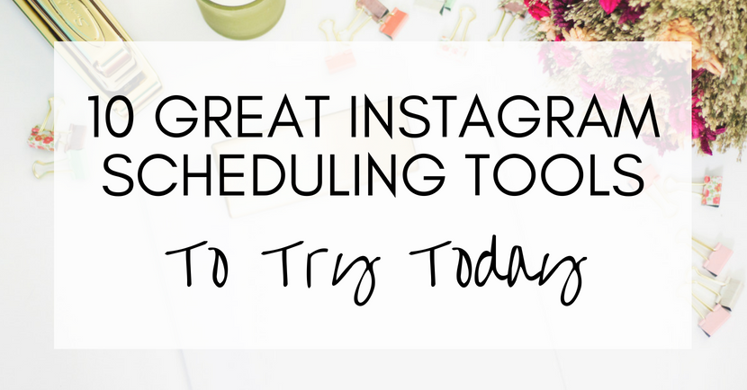 instagram scheduling tools