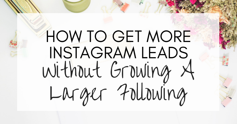 more instagram leads