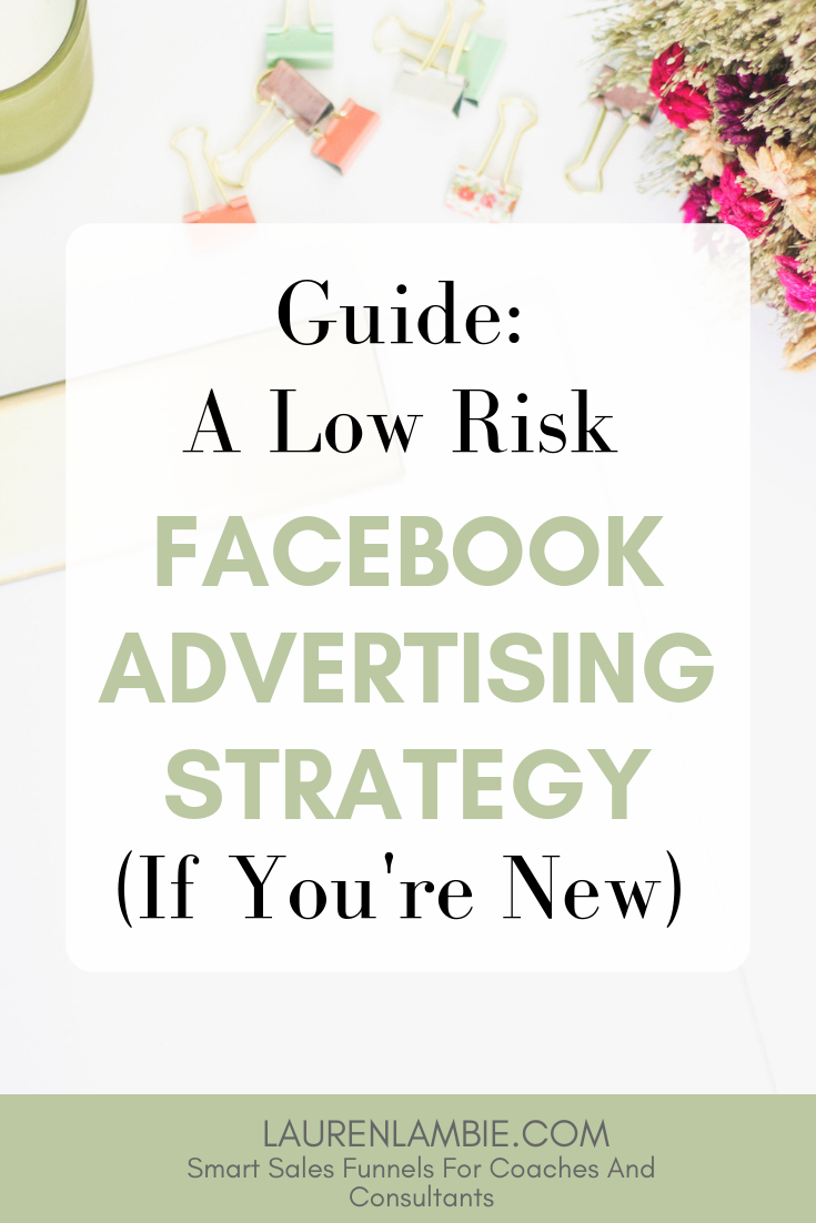 Thinking of getting started with facebook advertising but not sure whether it's right for you? This quick guide will tell you what you need to know, and how to make sure you keep your strategy low risk if you are a beginner #facebookads #facebookadvertising #advertising