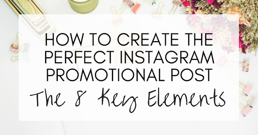 instagram promotional post