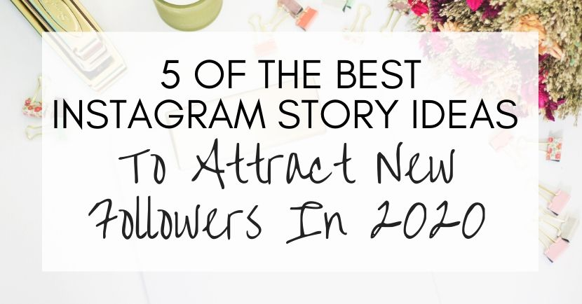 instagram story ideas