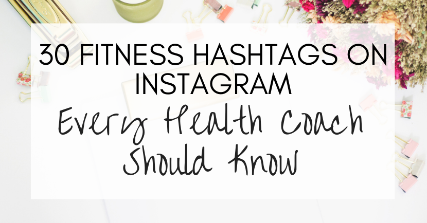 fitness hashtags on instagram